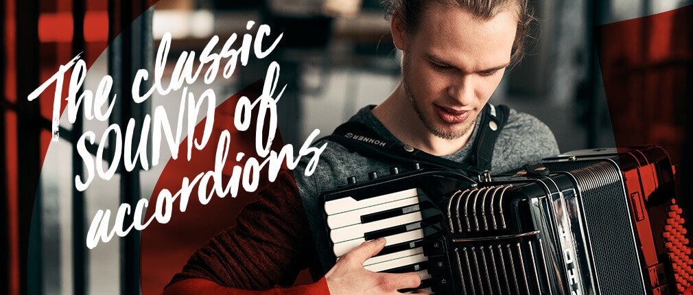 Accordions for Classical, Latin, Folk: HOHNER - enjoy music