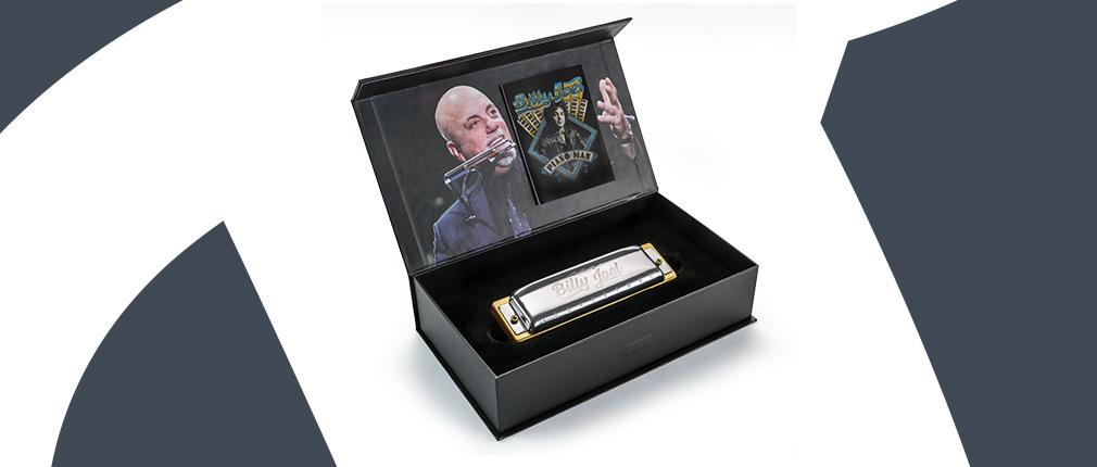 Hohner Billy Joel Signature Harp C Mundharmonika mit 20 Stimmzungen