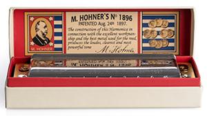 Hohner Marine Band 125th Anniversary Harmonica